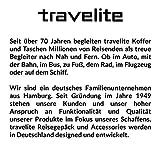 Travelite Handgepäck Kosmetiktasche, Gepäck Serie KICK OFF: Praktische Kulturtasche für Urlaub und Sport, 006920-10, 26 cm, 5 Liter, rot - 4