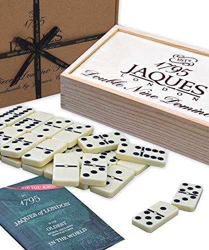 Jaques of London | Domino | Domino Spiel | Domino Kinder ab 3 4 5 6 Jahren | Domino Spiel Kinder | Seit 1795