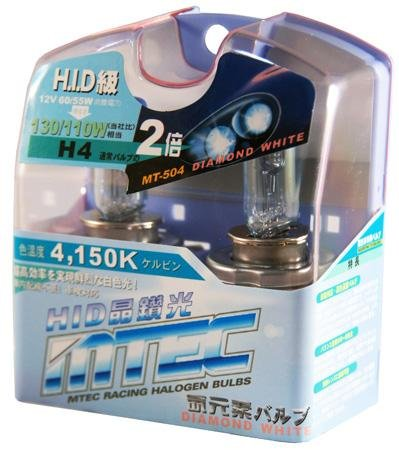 Mtec H412V 60/55W Diamant weiß Scheinwerfer Upgrade Leuchtmittel