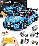 Technic - Juego de construcción de coche para coche de carreras AMG C63 DTM, 2.4G RC Race Car Set de construcción con motores, 1900 bloques compatibles con Lego Technics