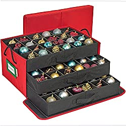 christmas ornament organizer from Amazon