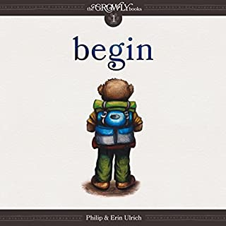 Begin audiobook cover art