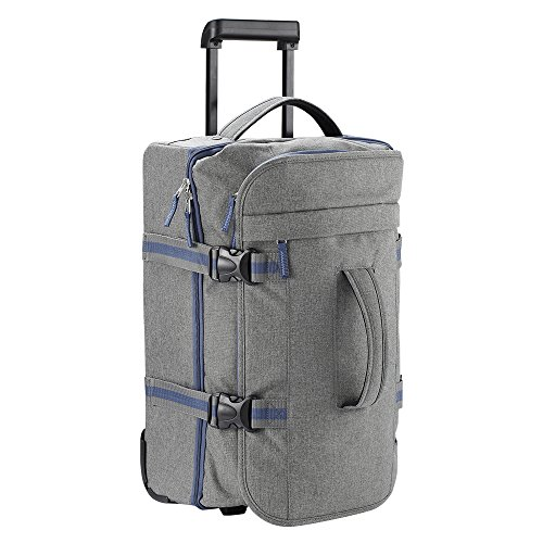 Cabin Max Marseille Travel Duffle Bag with Wheels Cabin Suitcase | 55x35x20cm