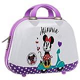 Disney Minnie Vespa Neceser ABS, Color Morado, 11.55 litros