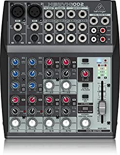Behringer Xenyx 1002 Premium 10-Input 2-Bus Mixer with XENYX Mic Preamps and British Eqs