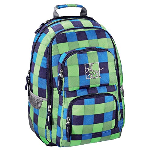 All Out Rucksack Louth, Pool Check, 26 Liter, grün/blau