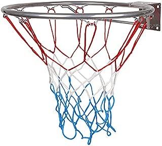 a Elegir kimet Hang Anillo Canasta De Baloncesto De Baloncesto con Anillo y Red de Calidad y Seguridad Dimensiones 45/cm de di/ámetro y 37/cm