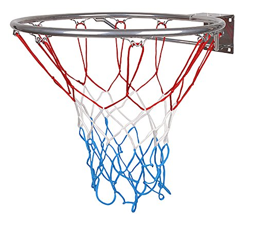 Sport-LINE Hangring Basketballring Basketballkorb mit Ring & Korb mit Netz Kinder 45 cm