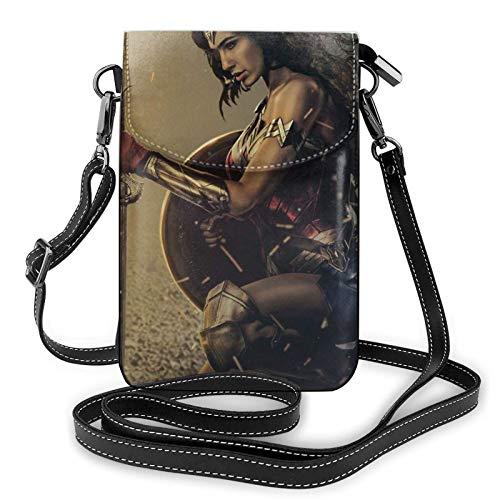 shenguang Wen-Der Wom-En - Bolso bandolera pequeño para teléfono para mujer, bolsos de hombro para teléfono móvil, tarjetero, cartera, monedero