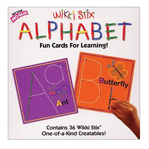 Wikki Stix Alphabet Cards Set