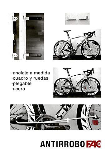 FAC Antirrobo Bicicleta Pared