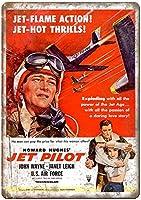 Jet Pilot 金属板ブリキ看板警告サイン注意サイン表示パネル情報サイン金属安全サイン