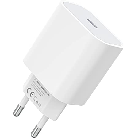 ultrapower100 Chargeur USB C 3.0 Ultra Rapide pour iPhone 12, 12 Mini, 12 Pro, 12 Pro Max, 11, 11 Pro, 11 Pro Max, XR X XS Max Samsung, Huawei Type c