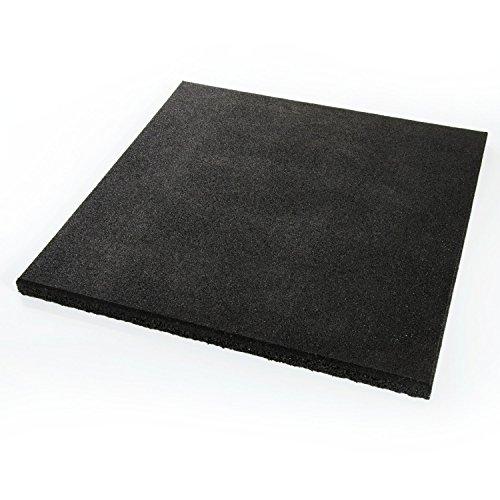 Gartenwelt Riegelsberger - Tappeto protettivo anticaduta 50x 50x 2,5/4,5cm, diversi colori, tappetino protettivo per pavimento in gomma