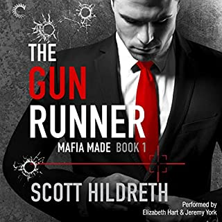 The Gun Runner audiobook cover art