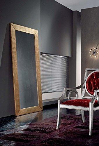 Bois & Design Miroir Moderne Rectangulaire Feuille Or