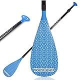 XUXIAKE Paddles SUP con eje de aleación y hoja de nailon, ajustable, 170 – 210 cm, azul marino