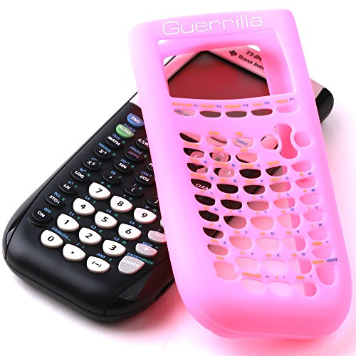Guerrilla Silicone Case for Texas Instruments TI-84 Plus Graphing Calculator, Pink Photo #4