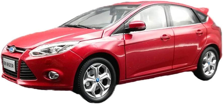 ventas en linea Maisto 1 18 18 18 Changan Ford New Fox 2012 Modelo de Coche Aleación Modelo de Coche Modelo de Adornos de Juguetes para Niños Colección Modelos Escala Vehículos ( Color   rojo )  suministro directo de los fabricantes