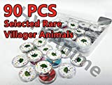 AC New Horizons NFC Tag Coin Game Cards 90pcs Selected Rare Villager Compatible with Switch with Storage Box