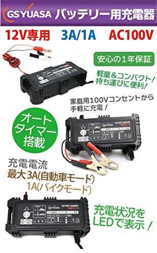 GSYUASA『バッテリーチャージャー』