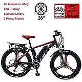 Biciclette Elettriche Per Adulto, in Lega Di Magnesio Ebikes Biciclette All Terrain, 26'...