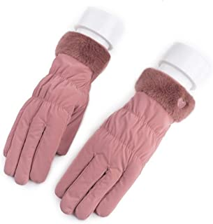 LJJOO Touch Screen Gloves Wind and Cold Gloves Outdoor Sports with Touch Screen Function Riding Gloves (Color : E)