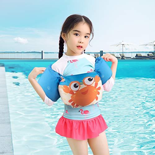 アームリング 子供用 浮き輪 幼児 プール 浮力サポート 浮き輪 腕 強い浮力 水泳リングアームサークル スイミング補助具 水泳練習 多色選択可 男女兼用