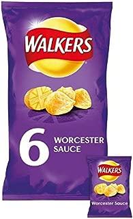 Walkers Worcester Sauce Crisps 25g x 6 per pack