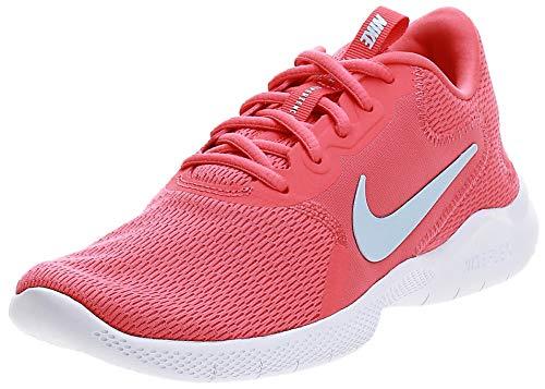Nike Women's Flex Experience Run 9 Ember Glow/Blue/Pink Shoes-6 UK (40 EU) (8.5 US) (CD0227-800)