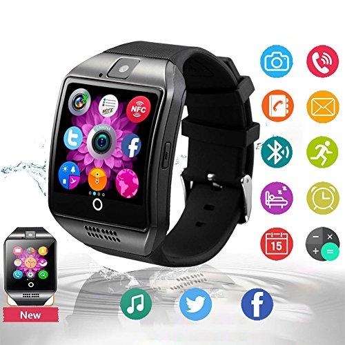 Smartwatch Bluetooth Touchscreen Armbanduhr Handy-Uhr Mit SIM/TF Card Slot/Schrittzähler/SMS/Facebook für Herren Damen Kinder