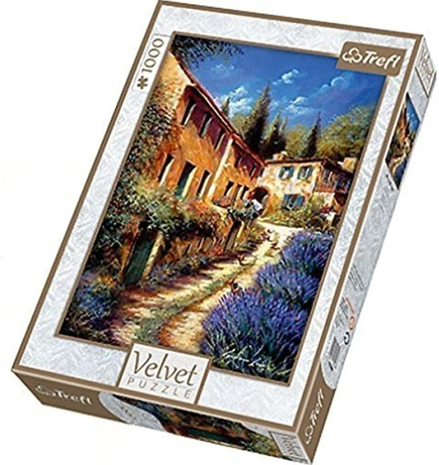 Trefl Up the Lane Velvet Puzzle (1000 Pieces) by Trefl
