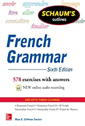 Schaum\'s Outline of French Grammar (English Edition)