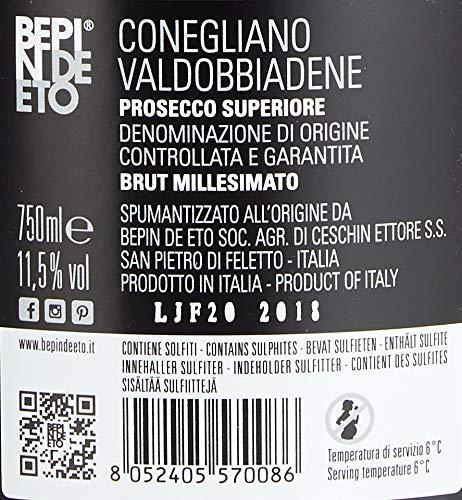 Bepin de Eto Prosecco Brut - 5