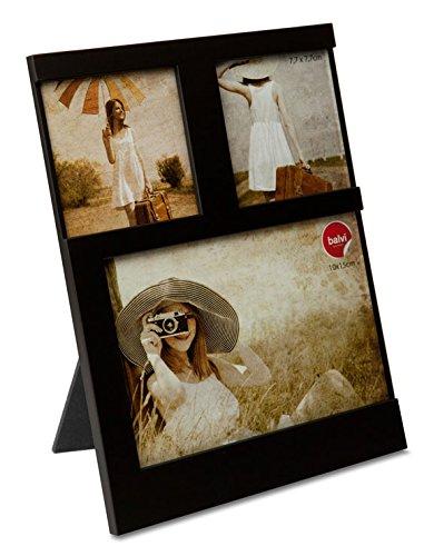 Balvi P Foto Dijon Colore Nero capacità: 3 Foto Portafoto da appoggio Plastica 21x16 cm