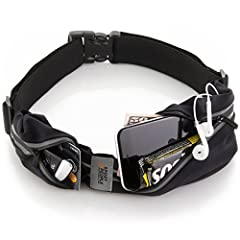 ENJOY OUTDOOR OR GYM ACTIVITY CAREFREE AND HANDS-FREE! Now you can keep your phone and other necessities safe and concentrate on your running! TWO POCKETS TO CARRY ALL YOU NEED. Best Running Belt You Can Find with extended manufacturer's warranty! SA...