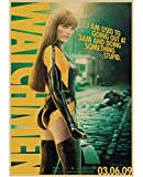 JIUBING Canvas Poster Watchmen Sci-Fi Classic Film Jackie