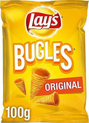 Lay's Bugles Original – Herzhafter Mais-Snack mit dem originalen Bugles Geschmack – 12 x 100g