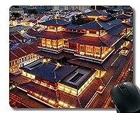 賭博のマウスパッド、仏歯の遺物寺のマウスパッドが付いている東洋の文化モザイク