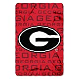 The Northwest Company NCAA Georgia Bulldogs Shadow 40'x 60' Fleece Throw Blanket