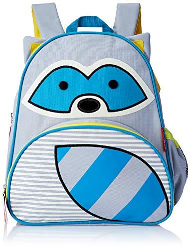 Skip Hop Zoo Pack Little Kid & Toddler Backpack, Riggs Raccoon