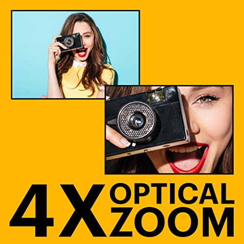 Kodak PIXPRO Friendly Zoom FZ43-BK 16MP Digital Camera with 4X Optical Zoom and 2.7