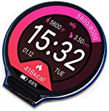 1.28inch Round LCD IPS Display Module 240×240 Resolution 65K RGB Colors GC9A01 Driver SPI Interface for Arduino/Raspberry Pi/Jetson Nano/STM32