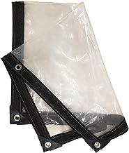 LIXIONG dekzeil PE verdikt transparant koudebescherming, winddichte isolatiefilm, 22 maten aanpasbaar (kleur: helder, groo...