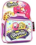 Shopkins Girl's 16' Backpack w/Detachable Lunch Bag