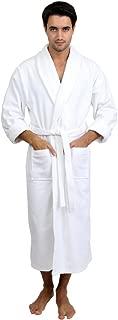Men's Robe, Turkish Cotton Terry Velour Bathrobe