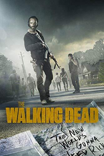Puzzles Rompecabezas  Programa De Televisión The Walking Dead   Juego De Rompecabezas De Madera De 1000 Piezas para Adultos Niños Puzzle Juguetes Decoración del Hogar