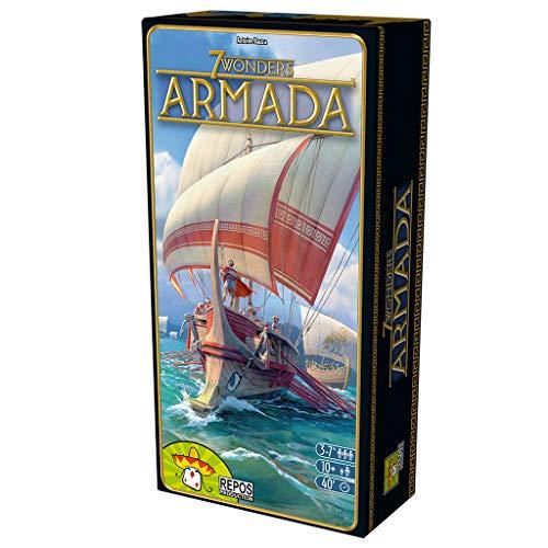 Repos Production- 7 Wonders: Armada, Color (Asmodee ADERP7WEX09)