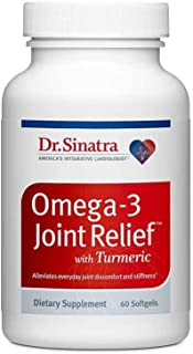 Dr. Sinatra's Omega-3 Joint Relief with Turmeric - Faster, Stronger Joint Pain Relief Easy on Your Stomach, Good for Your ...