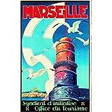 Marseille Poster 50x 70cm